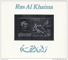 Ras Al Chaima Prueba En Plata Manchas En La Parte De Atras - Ra's Al-Chaima