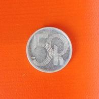 50 Haleru Münze Aus Tschechien Von 1993 (sehr Schön) - Repubblica Ceca