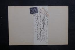 FRANCE - Lettre De Chalon / Saône Pour Allerey Et Retour, Affranchissement Sage 1ct - L 35245 - Marcophilie (Lettres)