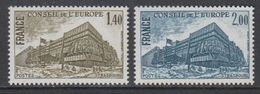France 1980 Conseil De L'Europe 2v ** Mnh (43559A) - Europese Gedachte