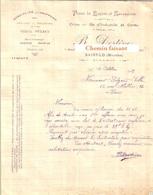 Document Du 17/10/1929 DESTEVE Chiffons, Peaux De Lapins, Os - Saint-LO 50 - 1900 – 1949