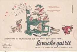 Rare Buvard La Vache Qui Rit Le Rémouleur Les Métiers N°6 - Produits Laitiers