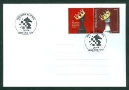 Croatia 2019 Grand Chess Tournament Zagreb 100 Years Of Croatian Chess Association Knight King Crown - Croazia