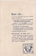 Rare Buvard La Vache Qui Rit Le Charbonnier Les Métiers N°3 - Produits Laitiers