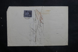 FRANCE - Lettre De Chalon / Saône Pour Bragny En 1884 Et Retour, Affranchissement Sage 1ct - L 35248 - Marcophilie (Lettres)