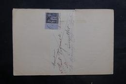 FRANCE - Lettre De Chalon / Saône Pour Ecuelles En 1883 Et Retour, Affranchissement Sage 1ct - L 35249 - Marcophilie (Lettres)