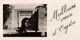 OUJDA (Maroc) - 2 Petites Cartes De Voeux  De 1950 - Bon état - 2 Scans - Morocco