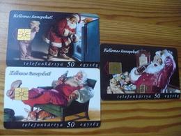 Phonecard Set Hungary - Coca Cola, Christmas - Hungary