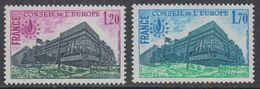 France 1978 Conseil De L'Europe 2v ** Mnh (43560) - Europese Gedachte