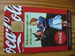 Phonecard Hungary - Coca Cola, Girls - Hungary