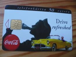 Phonecard Hungary - Coca Cola, Car - Hungary