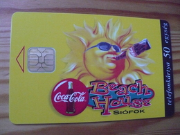 Phonecard Hungary - Coca Cola, Beach House - Hungary