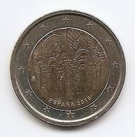 2010-ESPAÑA.MONEDA 2 EUROS.LA MEZQUITA DE CÓRDOBA. CIRCULADA  (FDC) (MBC) - España