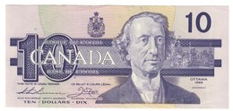 Canada 10 Dollars 1989 Thiessen-Crow Pick 96A AUNC - Canada