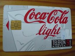 Phonecard Hungary - Coca Cola Light - Hungary