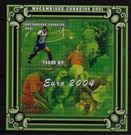 MOZAMBIQUE  BF 69B  * *  ( Cote 17.50e )  Euro 2002 Football  Soccer   Fussball Rivaldo - Europei Di Calcio (UEFA)