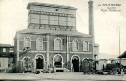 N°74354 -cpa La Ricamarie -puits Devillaine - Mines