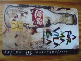 Phonecard Hungary - Coca Cola Canada - Hungary