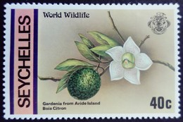 Seychelles 1978 Fleur Flower Fruit Yvert 401 ** MNH - Seychelles (1976-...)