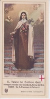 IMAGE PIEUSE - CANIVET -  Image RELIGIEUSE - S. THERESA DEL BAMBINO GESU - STE THERESE ENFANT JESUS - Imágenes Religiosas