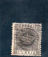 INDE PORT. 1882 O - Inde Portugaise