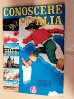 Conoscere L'Italia Album Vuoto Anno 50,60 Ottimo Edizione Baggioli - Adesivi