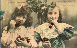 Bergeret 231, 4 Les Petites Camarades Cerises (couleur - Bergeret
