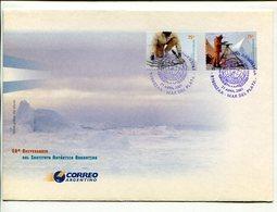 INSTITUCION ANTARTICO ARGENTINO, 50 ANIVERSARIO. ARGENTINA AÑO 2001 SOBRE PRIMER DIA ENVELOPE FDC - LILHU - Filatelia Polar