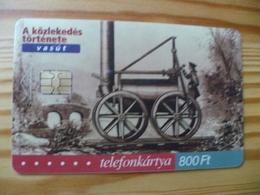 Phonecard Hungary - Train 30.000 Ex - Hungary