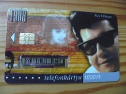 Phonecard Hungary - Roy Orbison 50.000 Ex - Hungary