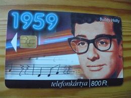Phonecard Hungary - Buddy Holly 100.000 Ex - Hungary