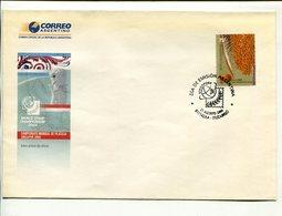 WORLD STAMP CHAMPIONSHIP, CAMPEONATO MUNCIAL FILATELIA SINGAPUR ARGENTINA AÑO 2004 SOBRE PRIMER DIA ENVELOPE FDC - LILHU - Filatelia & Monedas