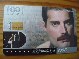 Phonecard Hungary - Freddy Mercury 100.000 Ex - Hungary