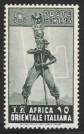 Italian Eastern Africa, Scott #5 Mint Hinged Fascist Legionary, 1938 - Italian Eastern Africa