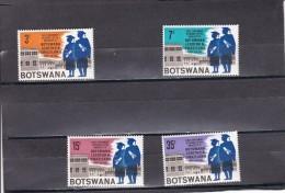 Botswana Nº 185 Al 188 - Botswana (1966-...)