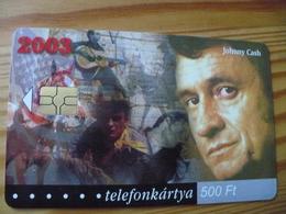 Phonecard Hungary - Johnny Cash 50.000 Ex - Hungary