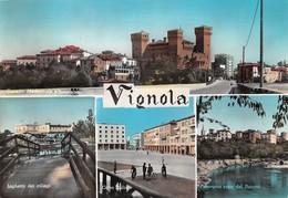 """4719 """" VIGNOLA"""" 4 VEDUTE-ANIMATA - CART. POST. OR. SPED.1963 - Italia"""