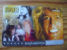 Phonecard Hungary - Andy Gibb 50.000 Ex - Hungary