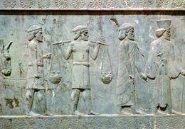 1 AK Iran * Reliefs In Persepolis - Altpersische Residenzstadt - Seit 1979 UNESCO Weltkulturerbe * - Iran