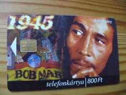 Phonecard Hungary - Bob Marley 100.000 Ex - Hungary
