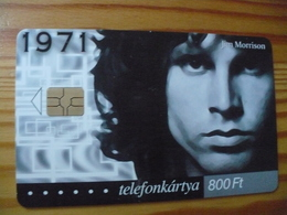 Phonecard Hungary - Jim Morrison, Doors 200.000 Ex - Hungary