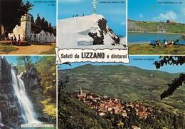"""4720 """" SALUTI DA LIZZANO E DINTORNI """" 5 VEDUTE-ANIMATA - CART. POST. OR. SPED.1963 - Saluti Da.../ Gruss Aus..."""