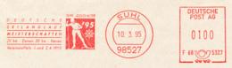 Freistempel 1396 Skilanglauf Meisterschaften - Affrancature Meccaniche Rosse (EMA)