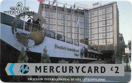 UK (Mercury) - Swallow Hotel (071 Phone Number), 19MERC - MER061 - Used - Reino Unido