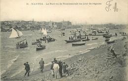 44 - TRENTEMOULT NANTES - SOUVENIR DE LA GRANDE SEMAINE MARITIME D'AOUT 1908 - LE PORT PENDANT LES REGATES - Nantes