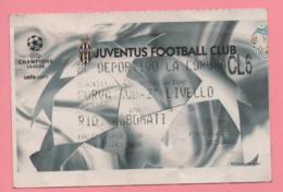 Biglietto Ingresso Stadio Juventus 2003 - Tickets - Vouchers