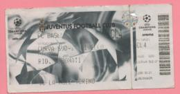 Biglietto Ingresso Stadio Juventus - Tickets - Entradas