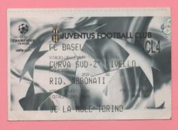 Biglietto Ingresso Stadio Juventus 2002 - Eintrittskarten