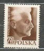 POLAND MNH ** 918 ANNIVERSAIRE DE LA MORT DE L'ECRIVAIN ANDRZEJ STRUG Littérature - 1944-.... Republik
