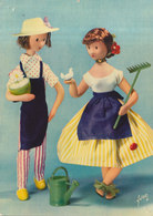 LES AMOUREUX DE PEYNET  N° 7 : Le Jardinier Et Melle Jonquille    ///   REF  JUILLET .19  //   N° 9139 - Peynet